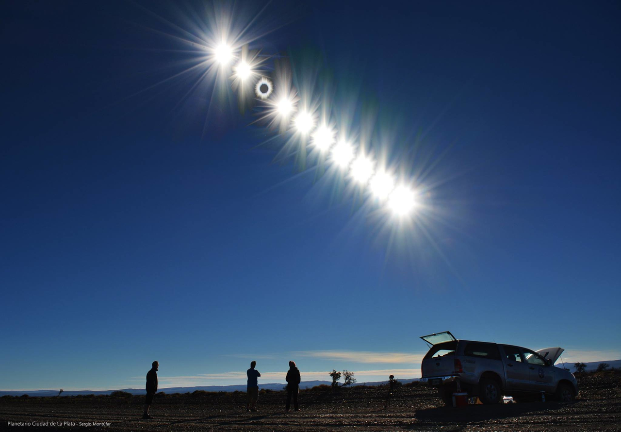 Eclipse total de sol 2020