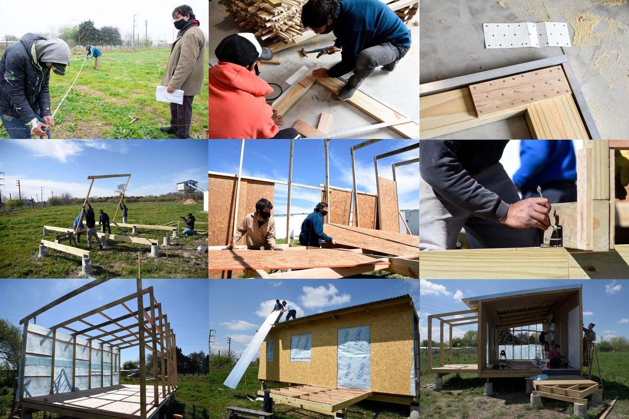La UNLP producirá viviendas de madera para dar respuesta a situaciones de emergencia habitacional